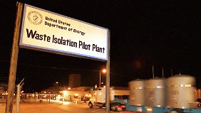 Die Waste Isolation Pilot Plant nahe Carlsbad in New Mexico in den USA.