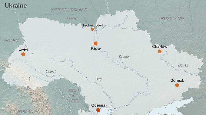 Ukraine im Überblick