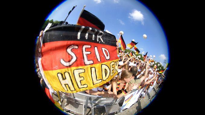 Deutschland bleibt der Fels in der Eurozonen-Brandung.