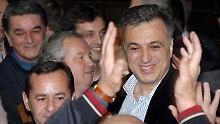 Filip Vujanovic ist Präsident Montenegros.