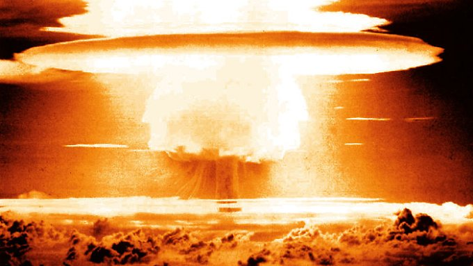 """Neben Bikini wurden auch die bewohnten Atolle Rongelap und Rongerik durch den radioaktiven Niederschlag von """"Bravo"""" kontaminiert."""
