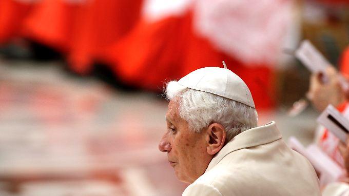 Der zurückgetretene Papst Benedikt XVI. Ende Februar in Rom.