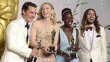 Viele Ausschnitte, aber auch Film-Ausschnitte: The best Oscar ever ever?