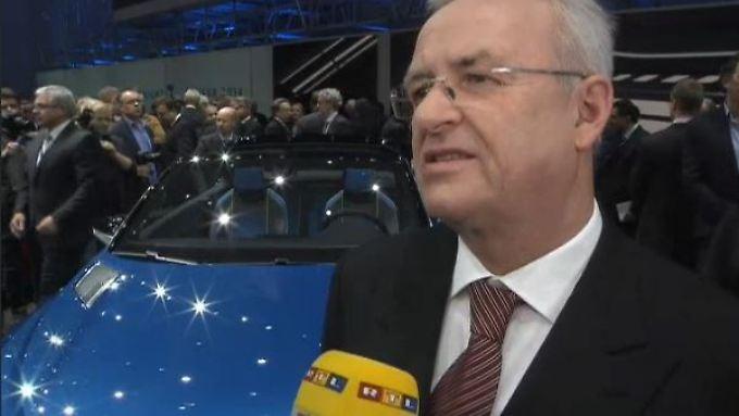 """VW-Chef Winterkorn im Interview: """"Auto wird ein mobiler Computer werden"""""""