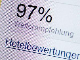 Den meisten Menschen helfen Hotelbewertungen dabei, eine Entscheidung für oder gegen eine Unterkunft zu treffen.