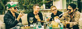 Na, wer ist denn das?: Tokio Hotel mit Bart statt Babyspeck