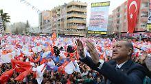 Der türkische Ministerpräsident steht über der Krise: Erdogan Allmächtig