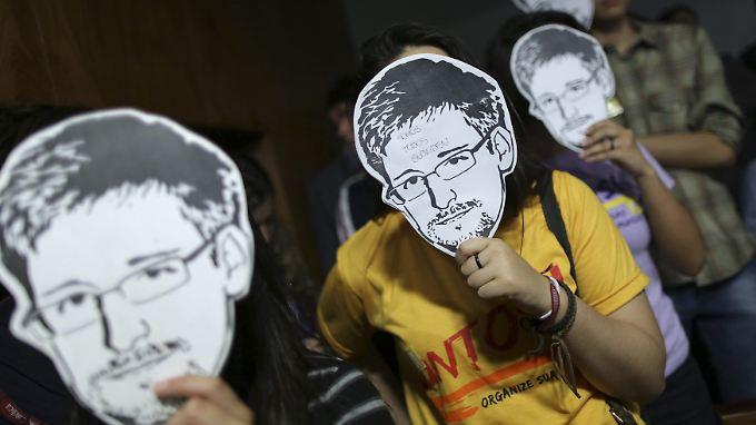 Edward Snowden liefert noch immer neue Details.
