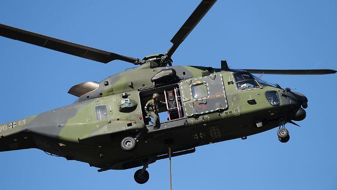 Den NH90 gibt es in 23 Varianten.