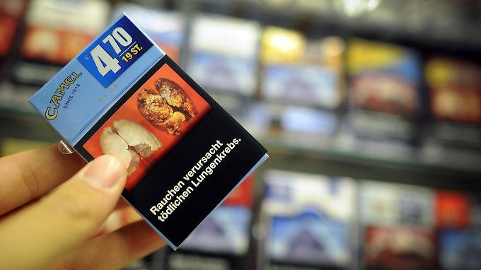 So könnten spätestens ab 2017 die Zigaretten-Packungen in der EU aussehen.