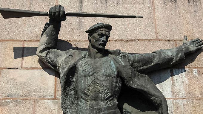 Denkmal für die Helden der Sowjetarmee auf der Krim.