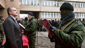 Kam unter dubiosen Umständen an die Macht: Sergej Aksonow, der neue Regierungschef der Krim.