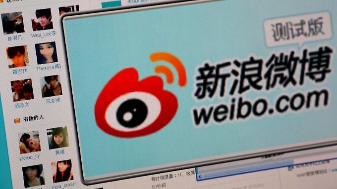 Weibo könnte Twitter als weltgrößten Kurznachrichtendienst ablösen.