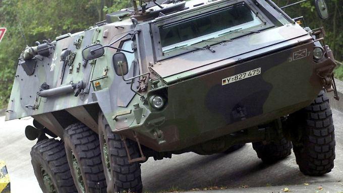 """Spürpanzer """"Fuchs"""" ist ein erfolgreiches Rheinmetall-Produkt"""