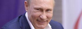 """""""Eine große Ehre"""": Russen spotten über Sanktionen"""