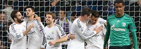 Insgesamt neun Mal durften die Madrilenen in den beiden Spielen gegen Schalke jubeln.