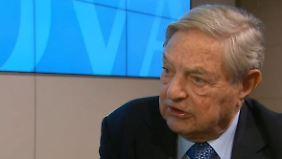 """George Soros im n-tv Interview: """"Sanktionen sind nur zur Dekoration"""""""