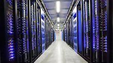 Facebook-Rechenzentrum im schwedischen Lulea, das erste außerhalb der USA. Wussten die IT-Konzerne von der Sammelwut der NSA?