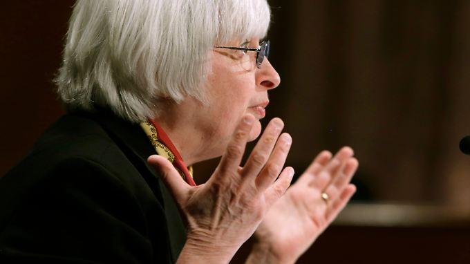 """""""Für den Fall einer Eskalation haben wir das auf dem Radarschirm"""", sagt Fed-Chefin Yellen zum Krim-Konflikt."""
