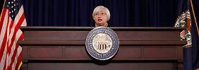 Video: Yellen lässt unbedachten Halbsatz fallen