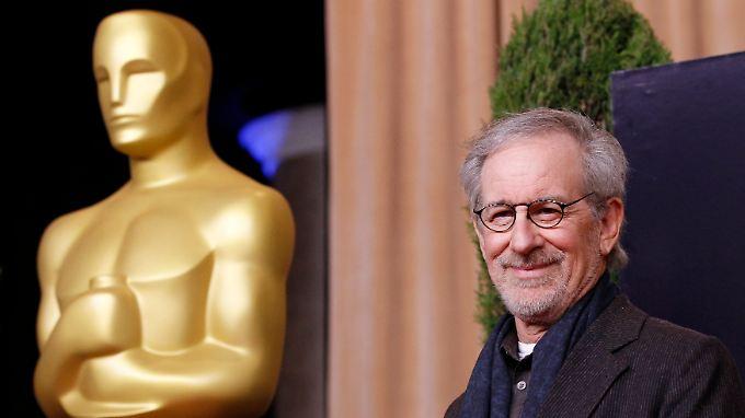 """Der goldene Junge und Spielberg sind """"alte Freunde""""."""