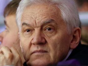 Gennadi Timtschenko: sechstreichster Mann Russlands. Reich war er angeblich schon vor seiner Freundschaft zu Putin.