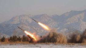 Bereits in den vergangenen Jahren ließ Nordkorea immer wieder verschiedene Raketentests durchführen.