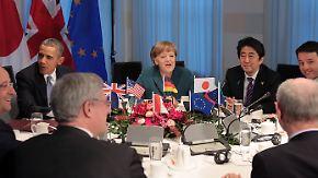 Aus G8 wird G7: Industriemächte schließen Russland aus
