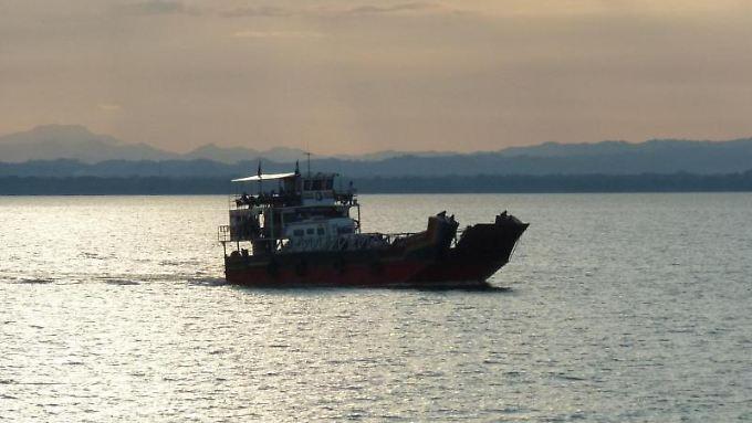 Ruhe auf dem Nicaragua-See. Über ihn soll der Schiffsverkehr gehen.