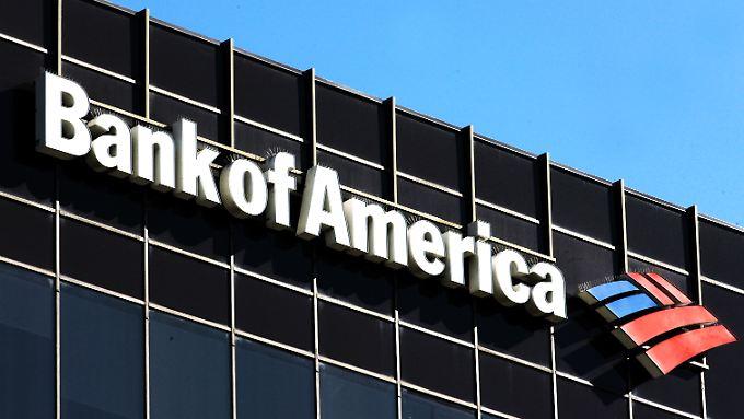 Die Bank of America muss mehr zahlen als andere Finanzkonzerne.