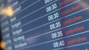 Verdi verschärft Warnstreiks: Sieben deutsche Flughäfen stehen still