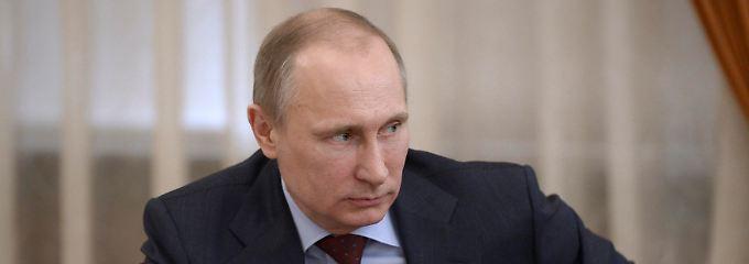 """Wirtschaftspolitik à la Wladimir Putin: """"Das müssen wir machen, und das werden wir machen."""""""