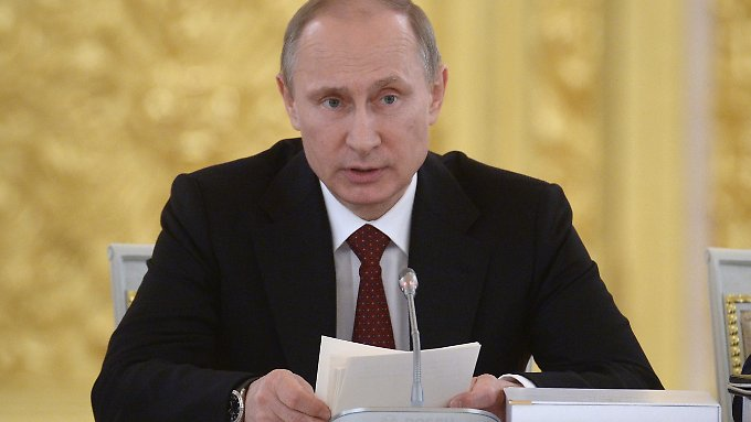 Bekommt Unterstützung von Top-Managern aus Deutschland: Wladimir Putin.