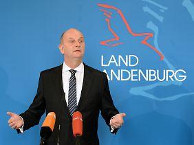 Das Begehren des Volkes nicht erreichbar? Brandenburgs Ministerpräsident Dietmar Woidke.