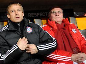 """Über den FC Bayern sagt Klinsmann: """"Ich durfte da ein Jahr trainieren und habe mich dann von ihnen getrennt. Oder wir haben uns getrennt - naja, sie haben sich von mir getrennt."""""""