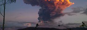 """Explosion im Vulkan Tungurahua: Ecuador zittert vor dem """"Feuerrachen"""""""