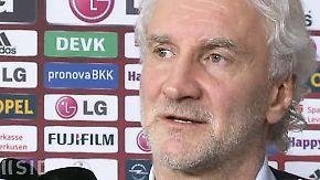 """Trainerwechsel bei Leverkusen: Völler: Trennung von Hyypiä """"tut weh"""""""
