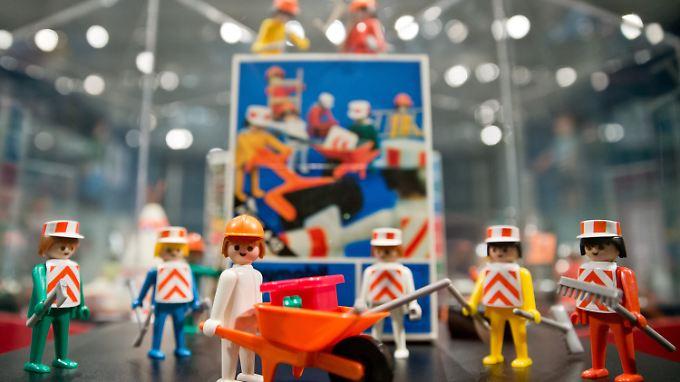 Playmobil gibt es mittlerweile seit 40 Jahren.