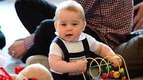 Royals in Neuseeland: Prinz George meistert seinen ersten offiziellen Termin