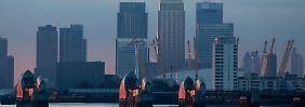 Londoner Finanzdistrikt: Jahrelang soll ein Kartell von Top-Händlern aller Großbanken Währungskurse manipuliert und Kunden betrogen haben.