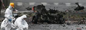 Kurz vor Merkels Besuch: Autobombe explodiert in Athen