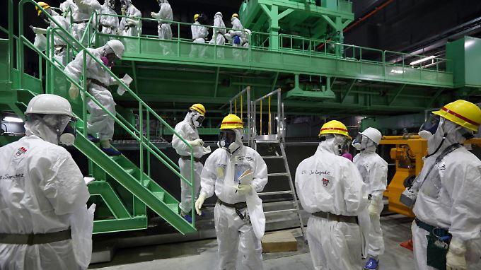 Noch immer ist die Umgebung um das AKW Fukushima radioaktiv verseucht. Die Bevölkerung ist besorgt.