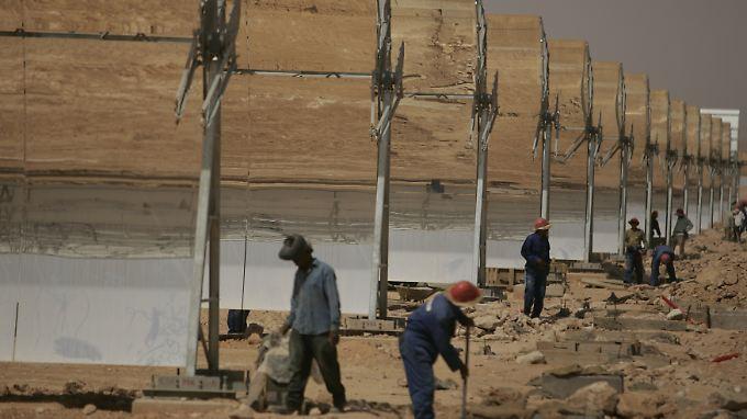 Solaranlagen im sonnigen Afrika sollen einen Großteil der benötigten Energie liefern - auch für Europa.