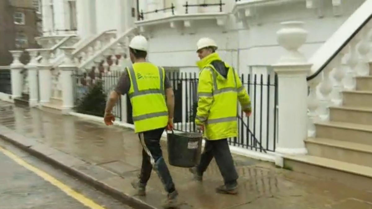 Luxus im keller londons superreiche bauen in die tiefe for Keller bauen