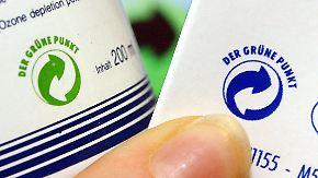 Neues Wertstoff-Gesetz: Ist der grüne Punkt für die Tonne?