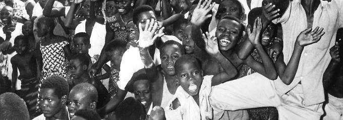 Unabhängigkeitsfeiern in Leopoldville (Kongo) 1960.