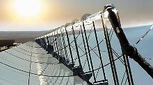 400 Milliarden Euro Investitionen: Wüstenstrom-Projekt hat sich verhoben