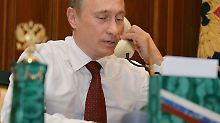 Telefonat mit Barroso: Putin droht EU-Chef mit Kiew-Übernahme