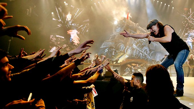 So bald wollen sich AC/DC nicht trennen, sagt Brian Johnson in einem Interview.