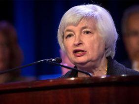 Janet Yellen plädiert für eine Beibehaltung der lockeren Geldpolitik.